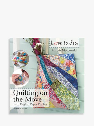 On Search Press Love To Sew Quilting The Go and Sewing Room Accessories Book Bundle