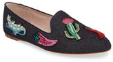 Kate Spade Women's Saville Embroidered Loafer
