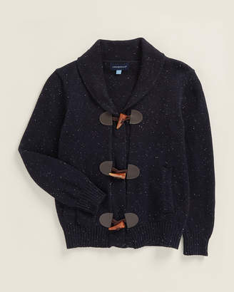 Andy & Evan Boys 4-7) Navy Toggle Front Cardigan