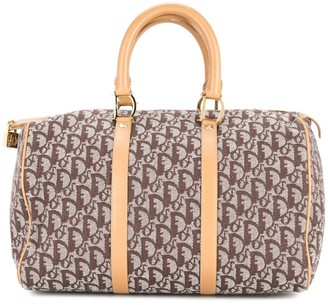 Christian Dior pre-owned Trotter Pattern Hand Bag