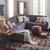 Pier 1 Imports Build Your Own Nyle Graphite Gray Sectional Collection