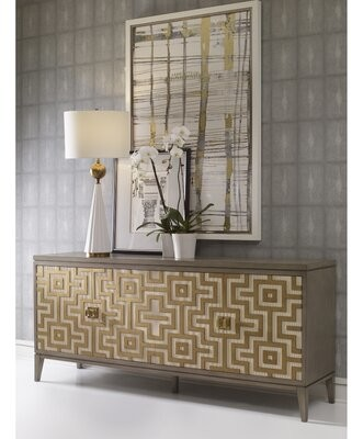 "Labyrinth 78"" Wide Sideboard Ambella Home Collection"