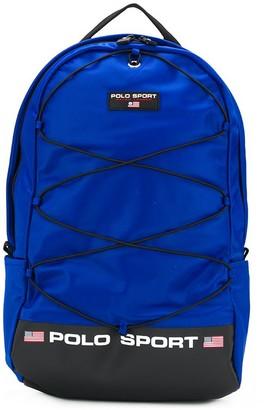 Polo Ralph Lauren Logo Patch Backpack