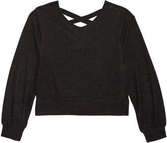 Zella Cross Back Sweatshirt