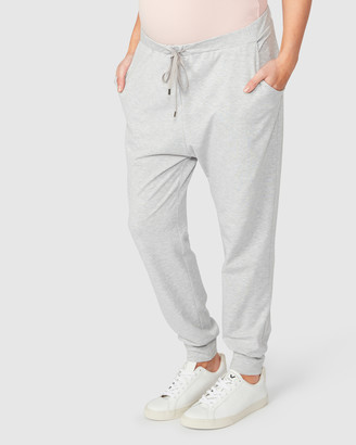 Pea in a Pod Maternity - Women's Grey Sweatpants - Jaya Slouch Pants - Size One Size, S at The Iconic