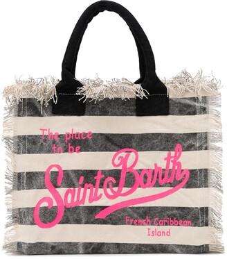 MC2 Saint Barth Vanity striped tote bag