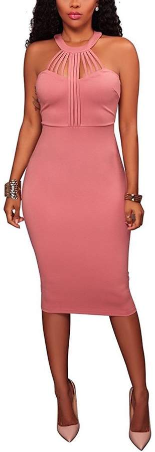 ff54d067007 Sexy Pink Bodycon Dress - ShopStyle Canada