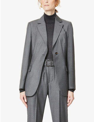 Brunello Cucinelli Notch-lapel wool blazer
