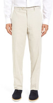 JB Britches Flat Front Cotton Pincord Trousers