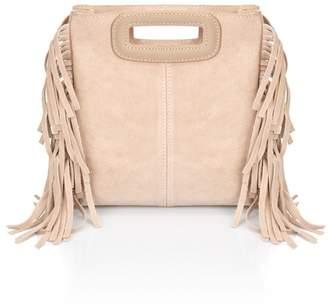 Lisa Minardi Suede Fringe Crossbody Bag