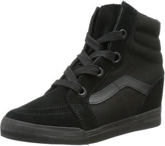 Vans U SK8Hi Wedge Unisex Adult Vudhbka Sneaker Black Size: 7.5