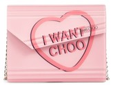 Jimmy Choo Candy Love Heart Clutch - Red