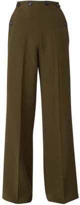 Roland Mouret Palmetto woollen trousers
