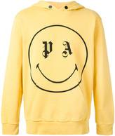 Palm Angels emoji print hoodie - men - Cotton - XS