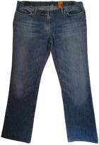 Mauro Grifoni Blue Cotton Jeans for Women