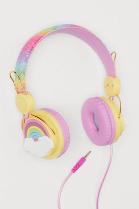 H&M Glittery On-ear Headphones