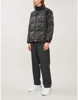 A Bathing Ape Camouflage shell-down jacket