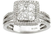 FINE JEWELRY LIMITED QUANTITIES 1 1/2 CT. T.W. Diamond 14K White Gold Bridal Ring