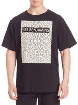 Les Benjamins Solid Graphic Tee