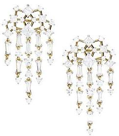 Adriana Orsini Women's Verbena 18K Yellow Gold, Rhodium-Plated & Crystal Chandelier Earrings