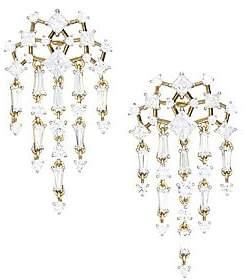 Adriana Orsini Women's Verbena 18K Yellow Gold, Rhodium-Plated & Crystal Chandelier Earrings
