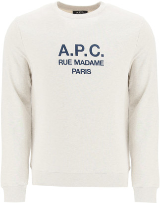 A.P.C. Sweatshirt With Logo Embroidery