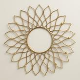 Gold Sunburst Wall Jewelry Holder