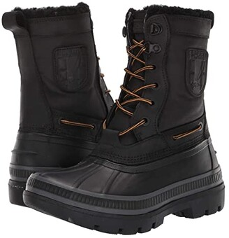 Sperry Ice Bay Tall Boot (Black) Men's Boots
