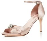 Kate Spade Medina Embellished Ankle Strap High Heel Sandals