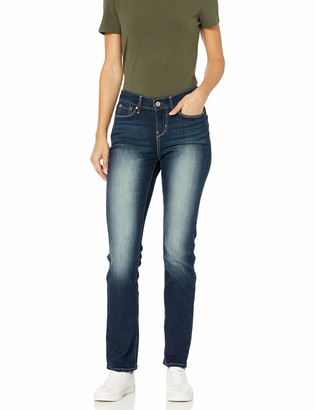 Signature by Levi Strauss & Co. Gold Label Signature by Levi Strauss & Co Women's Curvy Straight Jeans Pants