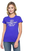 Juicy Couture Logo Crown Jewel Short Sleeve Tee
