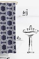 Kate Spade 'Bow Tile' Shower Curtain
