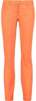 Roberto Cavalli Cotton-Blend Skinny Pants
