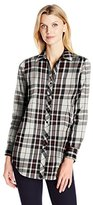 Foxcroft Women's Long Sleeve Holiday Tartan Tunic