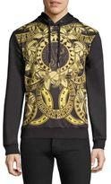 Versace Gold Chain Nero Hooded Sweatshirt