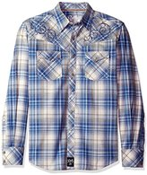 Wrangler Men's Rock 47 Long Sleeve Western Shirt