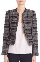 Derek Lam 10 Crosby Shrunken Knit Jacket