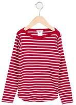 Jacadi Girls' Striped Long Sleeve Top