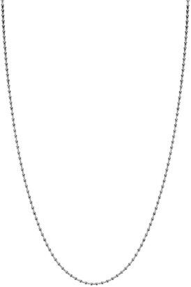 Pragnell 18kt white gold Bohemia long necklace