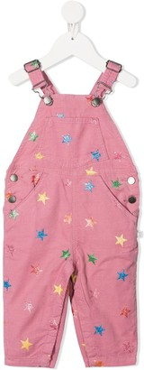 Stella McCartney Kids Star-Print Corduroy Dungarees