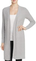 Foxcroft Mixed Stitch Cardigan Sweater