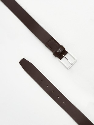 Calvin Klein Formal Belt - Chocolate Brown