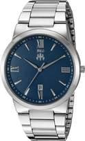 Jivago Men's JV3517 Clarity Analog Display Quartz Silver Watch