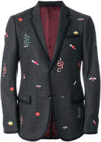 Gucci embroidered monaco jacket