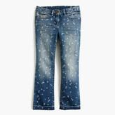 J.Crew Pre-order Girls' star print stretch toothpick jean