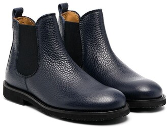 Gallucci Kids leather Chelsea boots