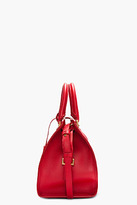 Saint Laurent Red leather Ligne Y Chyc tote