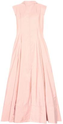 Jil Sander Striped maxi dress