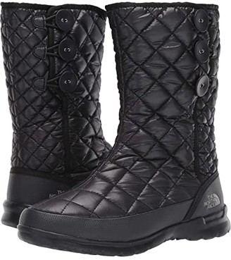 The North Face ThermoBall Button Up (TNF Black/Titanium) Women's Pull-on Boots