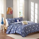 Intelligent Design Pilar Reversible Coverlet Set